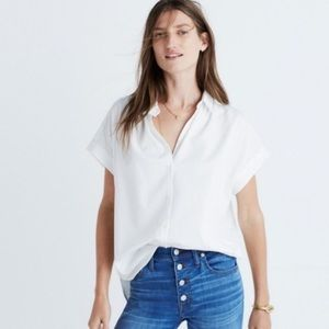 Madewell Central shirt in white